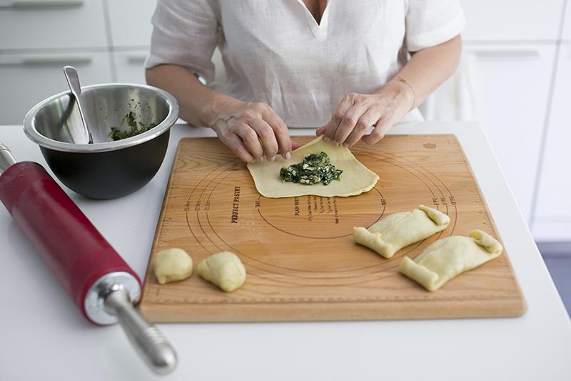 Spanakopitakia-Rustic Spinach Pies
