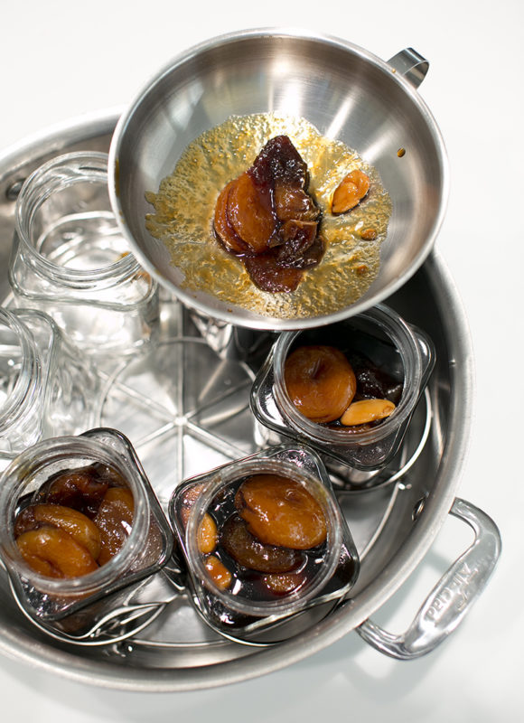 Dried Apricot Preserve with Almonds