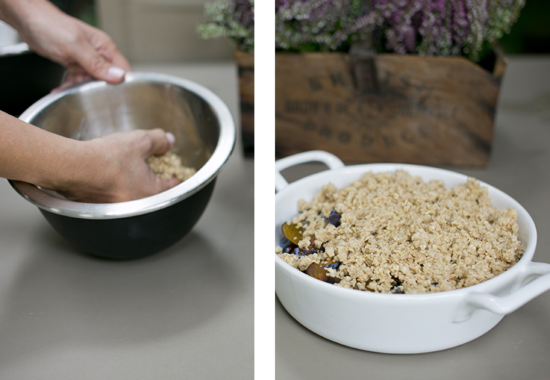 Plum Lime and ginger crumble2