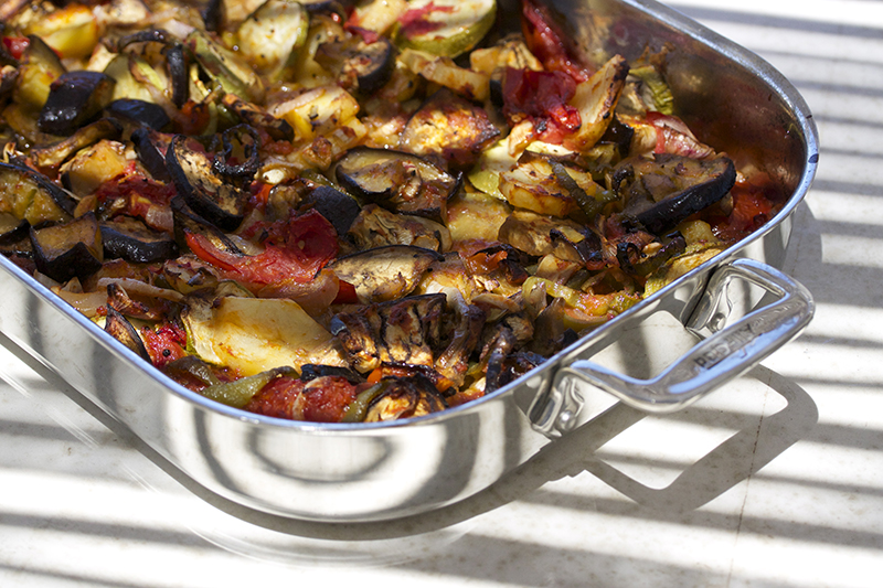 Briam - Greek Vegetable Bake
