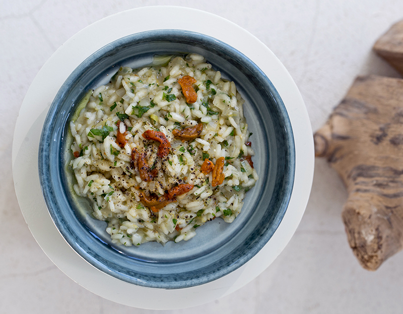 Sea Urchin Risotto