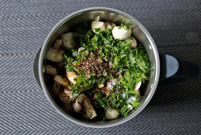 Mushroom Lover Pesto