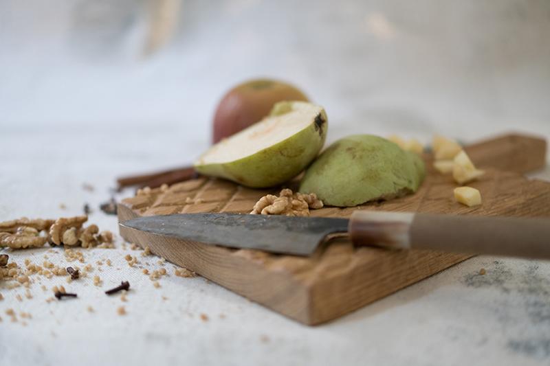 Pear & Apple Crumble Cake