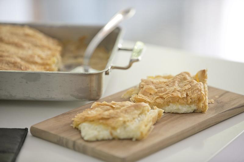 Puff Pastry Cheese Pie -Tiropitta