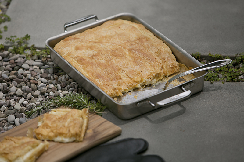 Puff Pastry Cheese Pie -Tiropitta