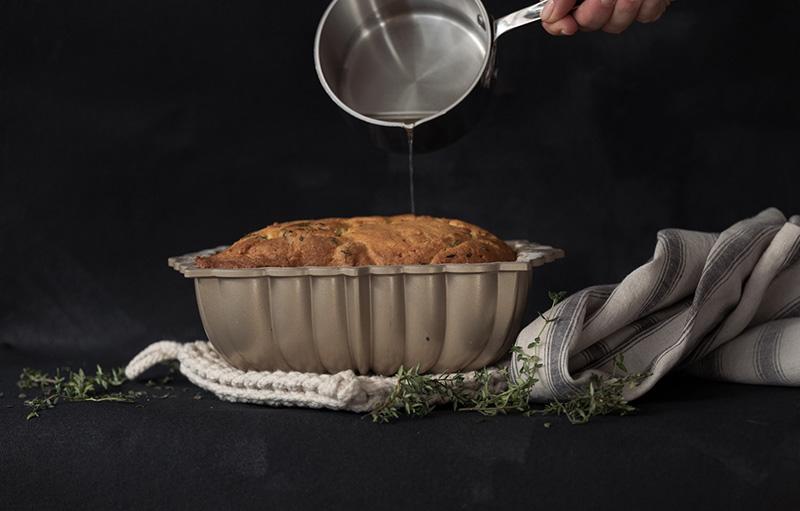 Lemon & Thyme Cake Loaf