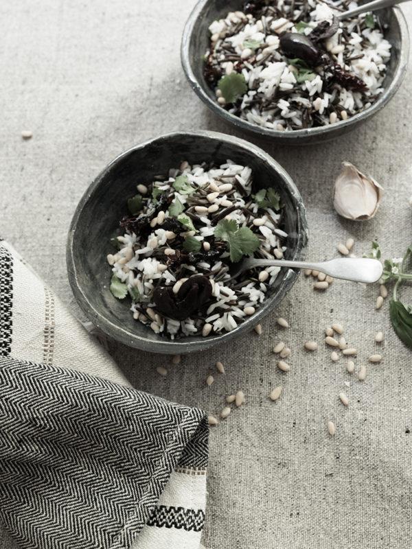 Spring Wild & White Rice Salad
