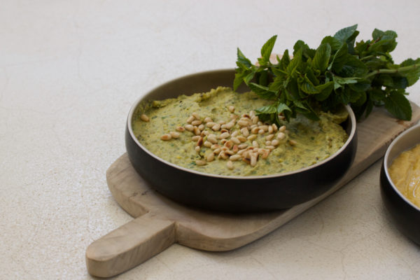 Sandra Choremi_Avocado Mung Bean and Tahini Hummus