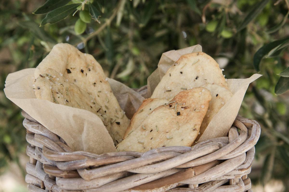 Sandra Choremi_Olive oil and herb crackers