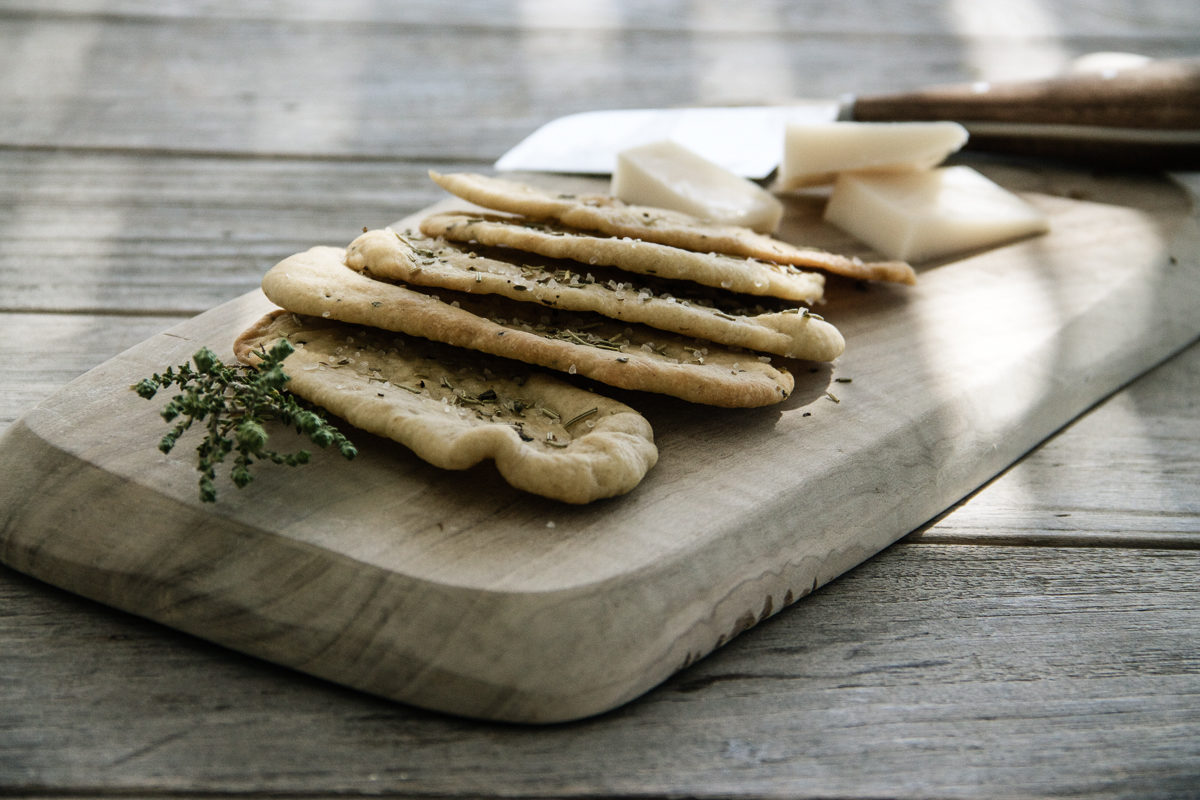 Sandra Choremi_Olive oil and herb crackers