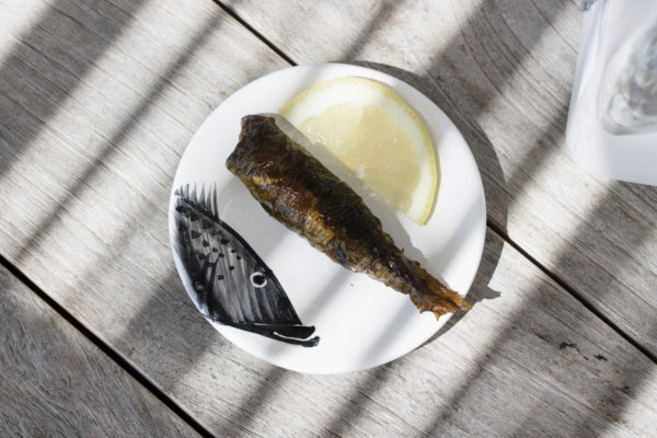 Sandra Choremi_Spicy Sardines Wrapped in Vine Leaves_