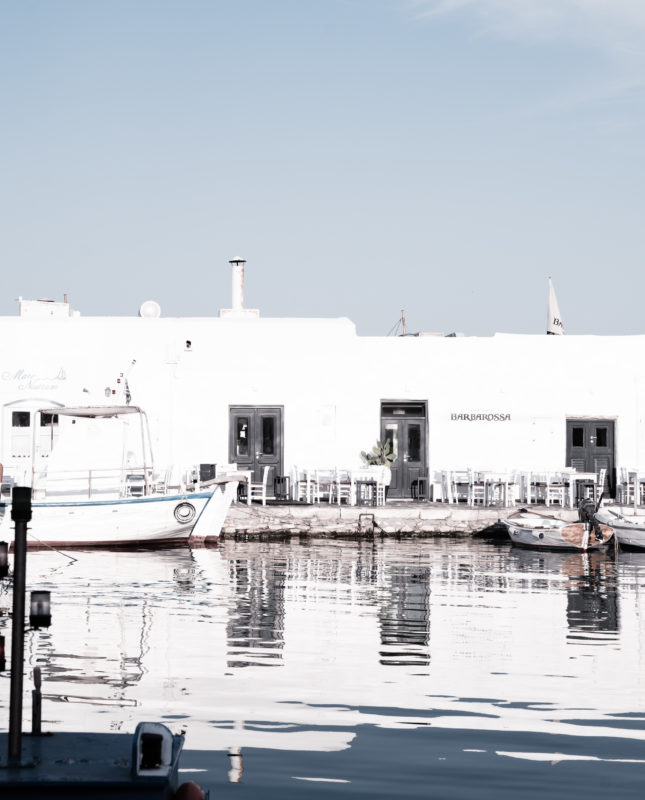 Sandra Choremi_Paros Port